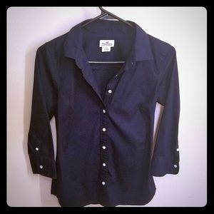 J CREW xs button up shirt
